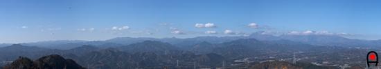 御岳からの眺め