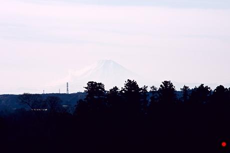 冨士自然公園から富士山の写真