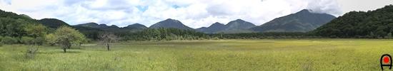 小田代ヶ原西側遊歩道からの写真