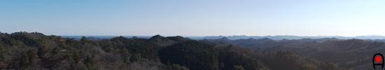 花立自然公園展望広場(海の見える丘)からの眺めの写真