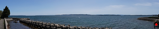 七尾北湾の眺めの写真