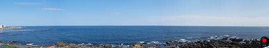 野島灯台からの眺めの写真