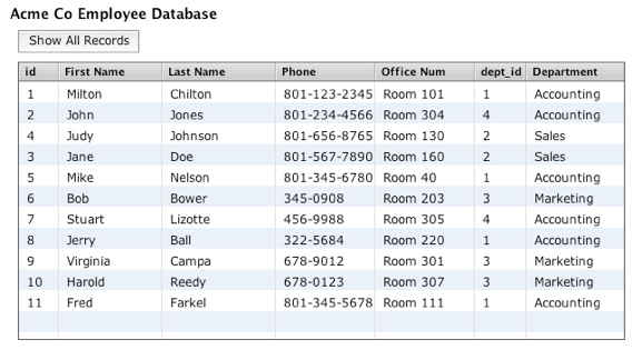 Using Databases in LiveCode