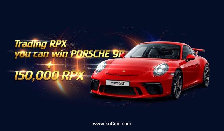 Promoção da Kucoin e RedPulse vai dar um PORSCHE 911 e mais prêmios