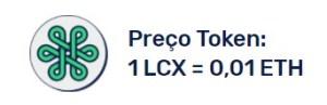 LCX Preço