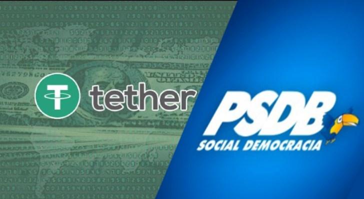 Tether e PSDB