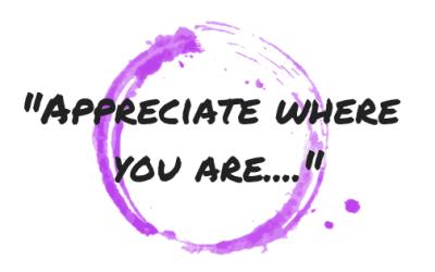 Motivational Monday Post 13-Appreciation