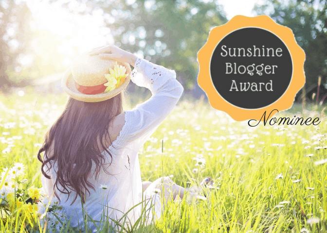 Sunshine Blogger Award Nominee
