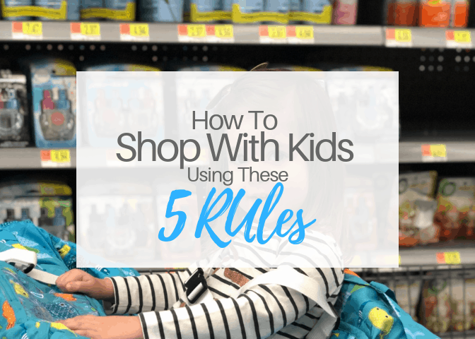 How To Shop With Kids Using These 5 Rules