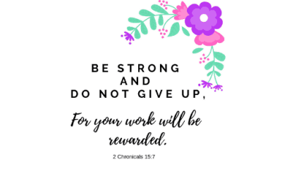 Motivational Monday Post 24: Be Strong