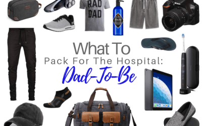 What To Pack In The Hospital Bag: Dad-To-Be