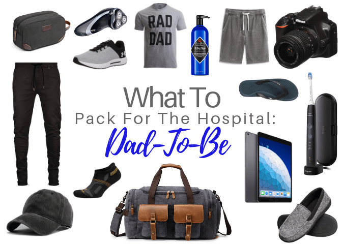 What to pack for the hospital: Dad-to-be