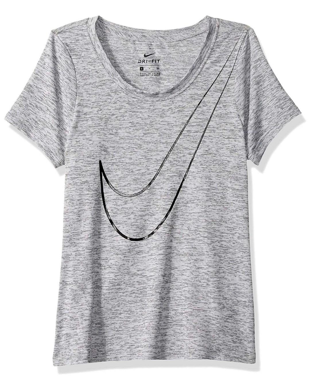 Nike Victory Girls' Veneer Short Sleeve Top