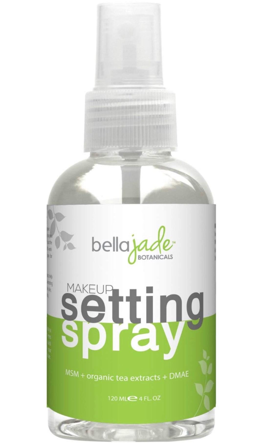 Make-up Setting Spray with Organic Green Tea