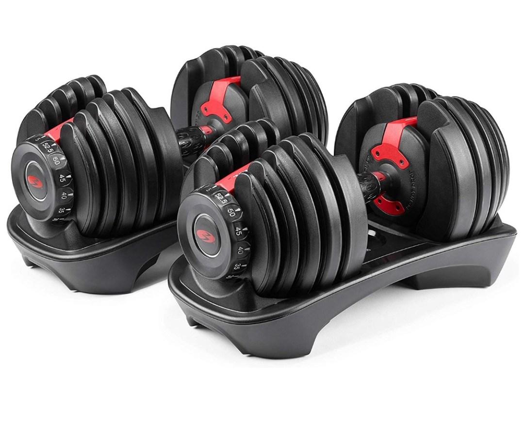 Bowflex Adjustable Dumbbells