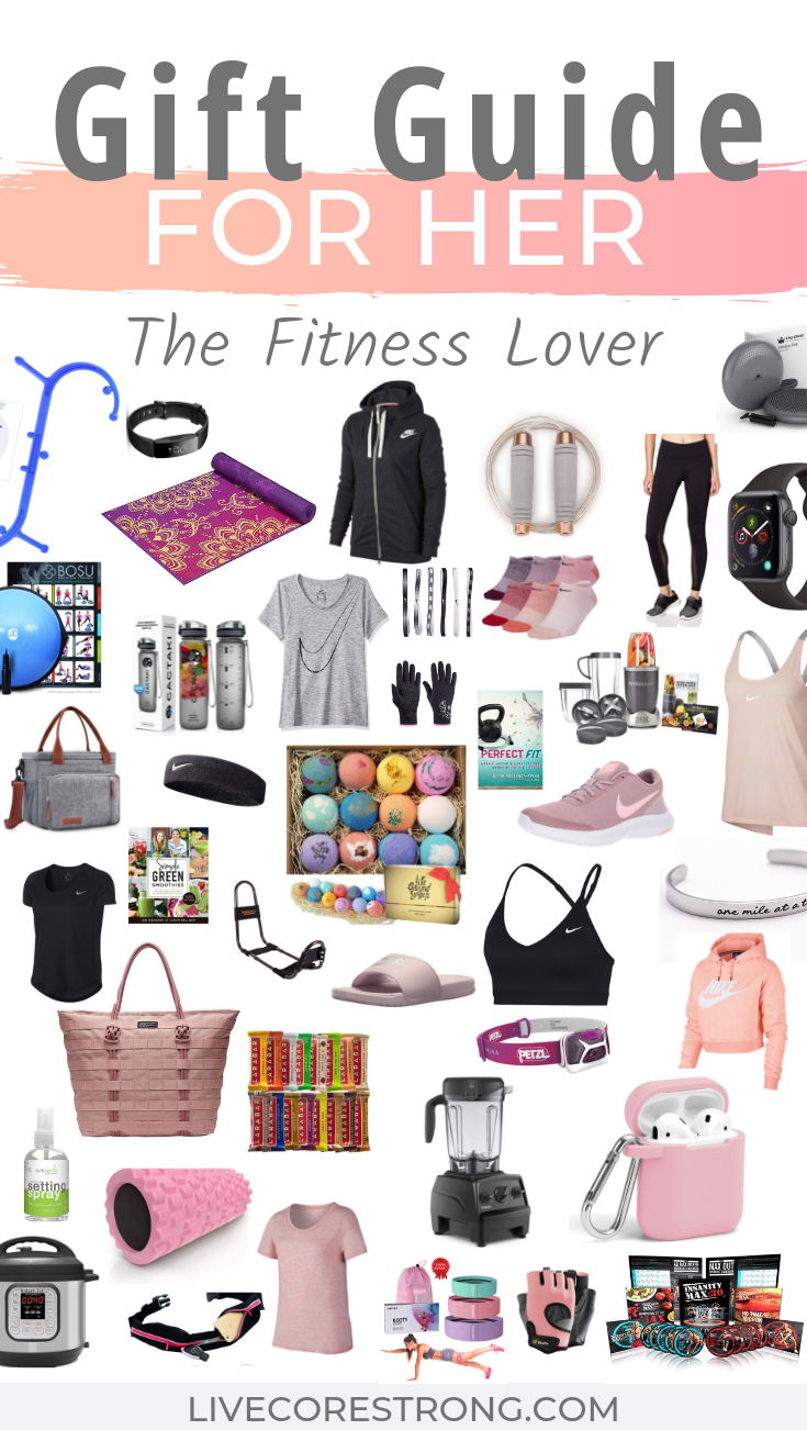 TThe Best List Of Fitness Gift Ideas For Her: 2020