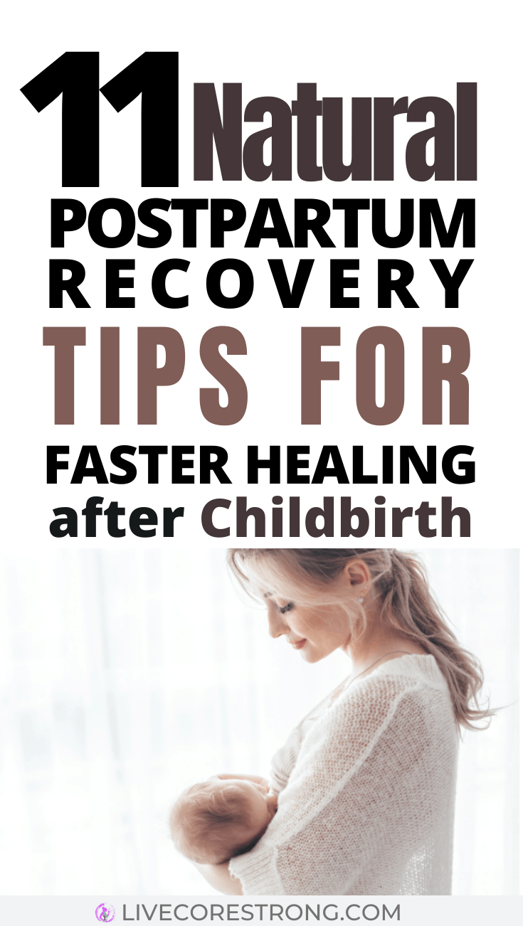 Natural Postpartum Recovery Tips for Faster Healing