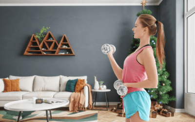Finding Time To Work Out During The Holidays As A New Mom