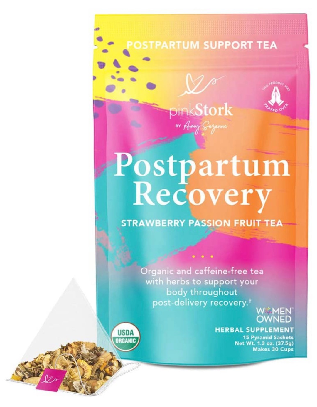 Pink Stork Postpartum Recovery Tea