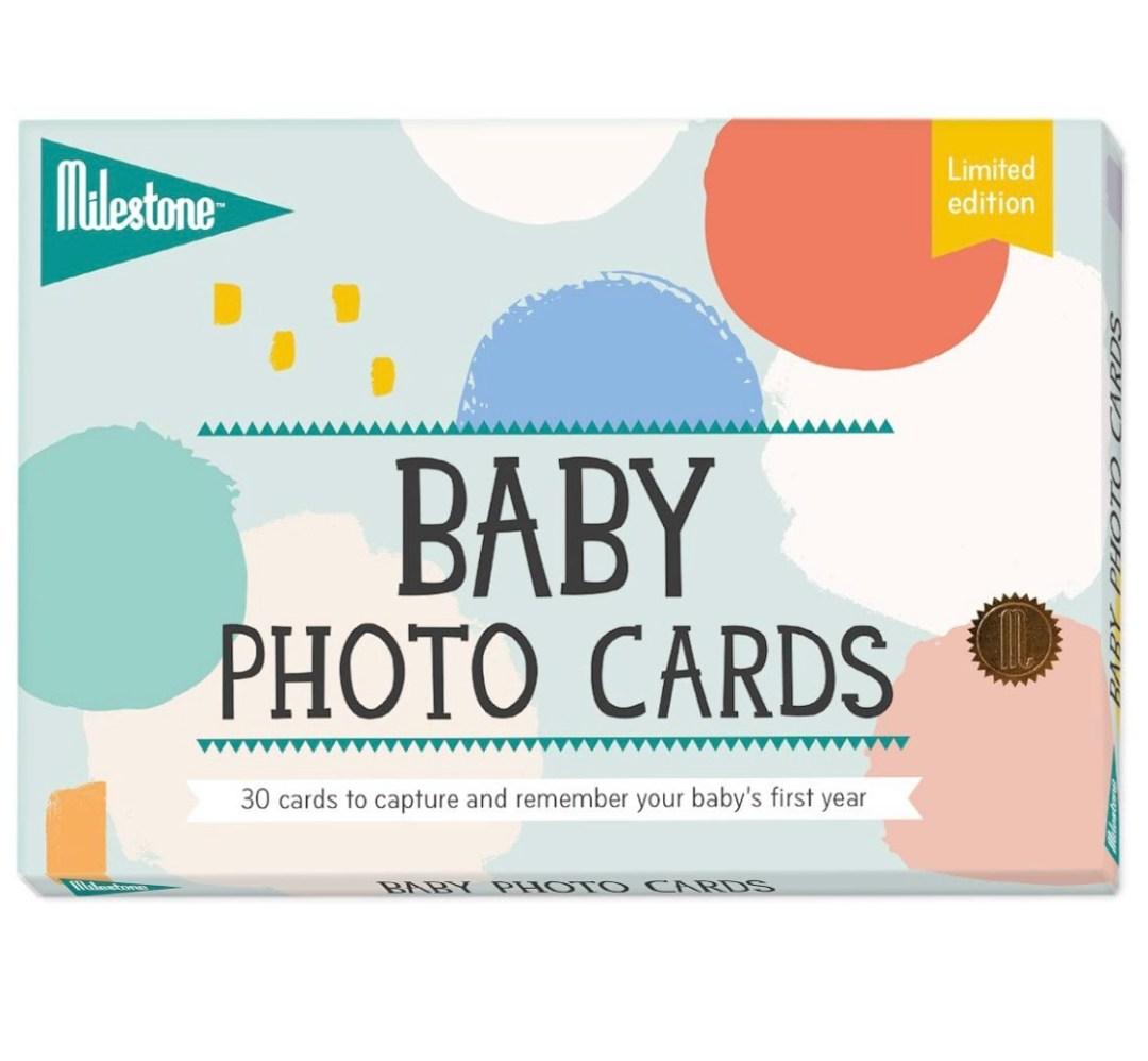Milestone Baby Keepsake Cards