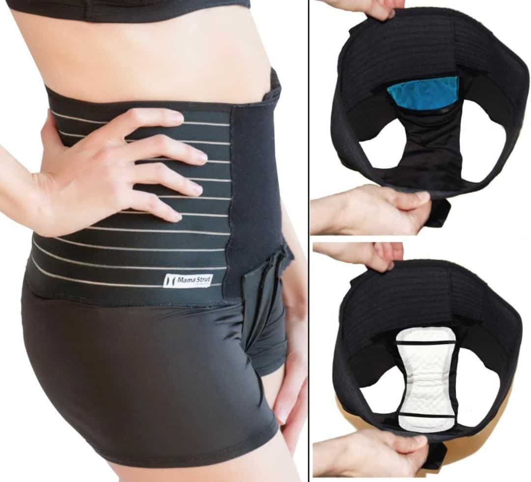 Mama Strut Postpartum Belly Wrap Pelvic Binder System
