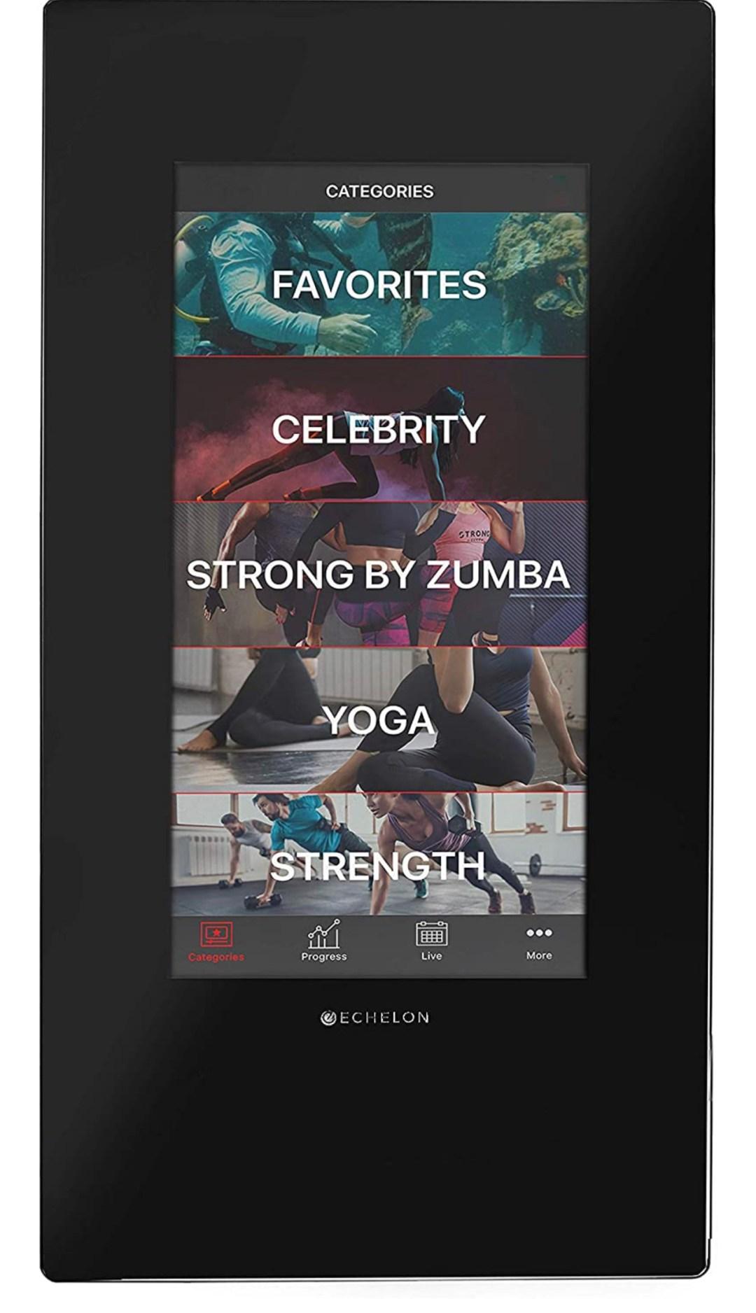 Echelon Reflect Smart Connect Fitness Mirrors