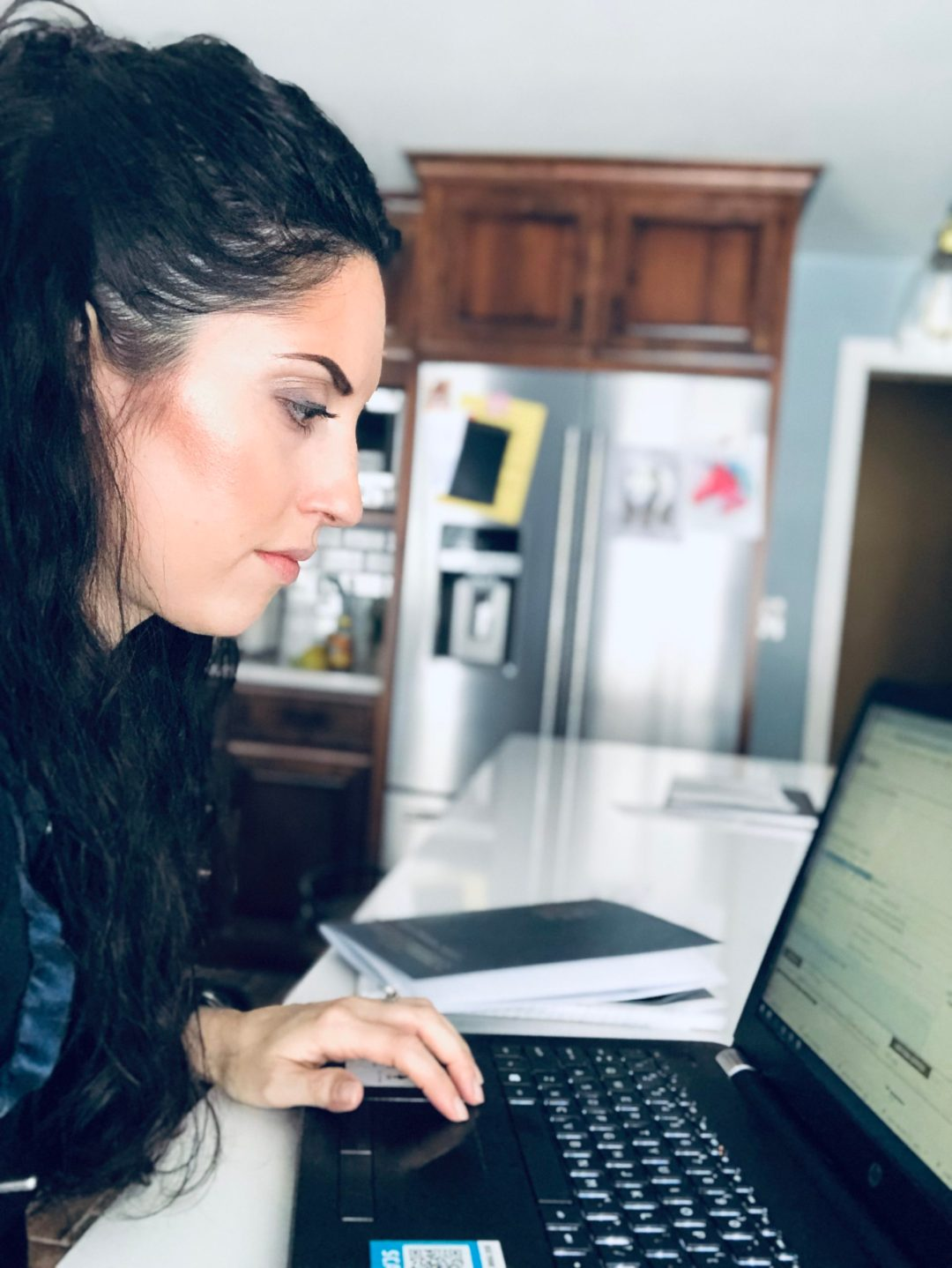 fitness mom blogger