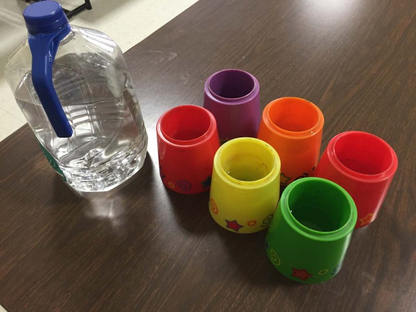 water cups