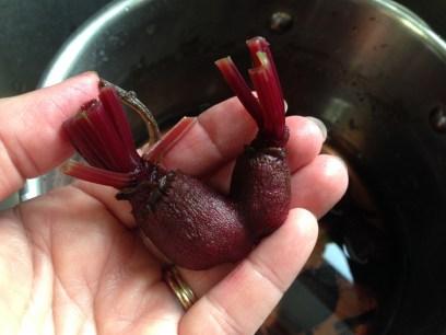 heart beets