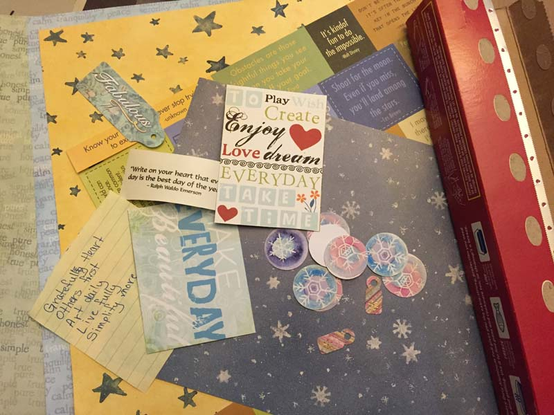 Scrapbook papers