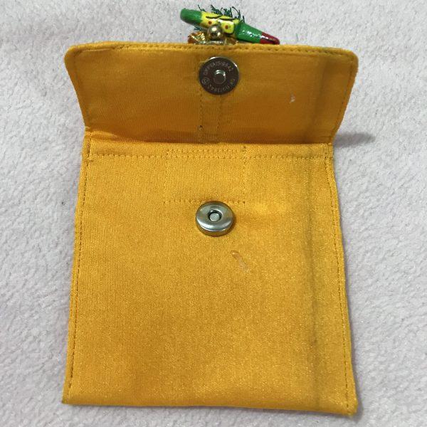 Yellow parrot small shagun envelop 2