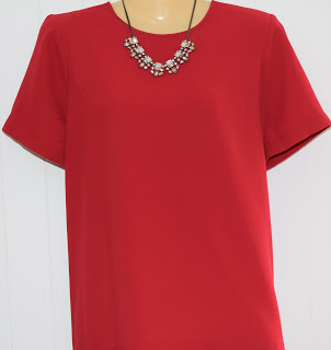 Madewell red shirt