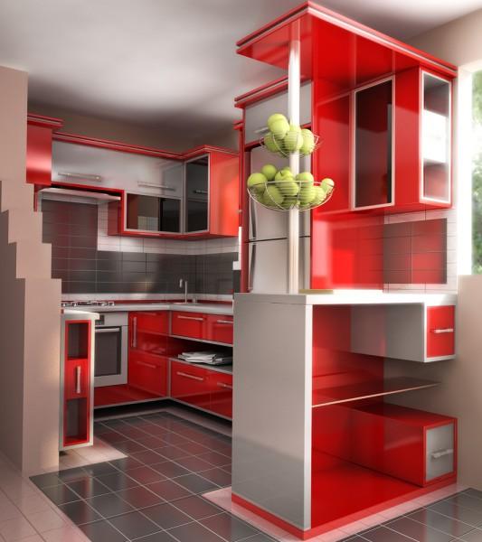 Kitchen Set Jadi: Keren ! Ini Dia 10 Model Kitchen Set Minimalis Paling Unik