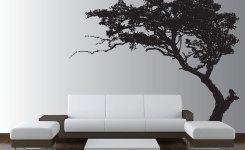 desain hiasan dinding pohon