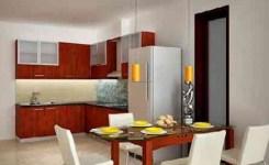 Desain Dapur dan Ruang Makan Terbuka 14