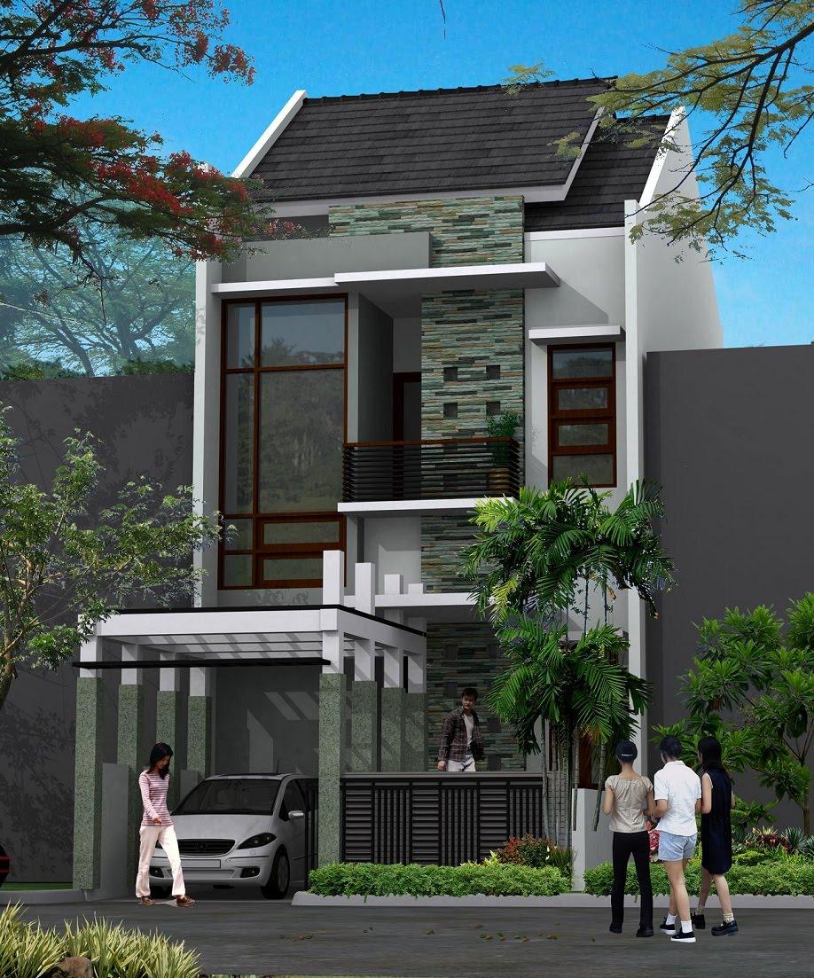 Gambar Depan Rumah : gambar, depan, rumah, Desain, Depan, Rumah, Minimalis, SHREENAD