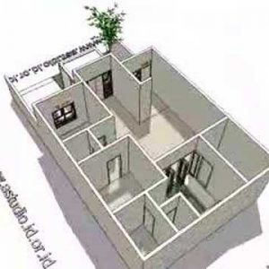 8 Denah Rumah 3 Kamar Ukuran 7x9 Paling Dicari
