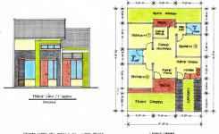Denah Rumah 3 Kamar Ukuran 7×9 Paling Dicari unik