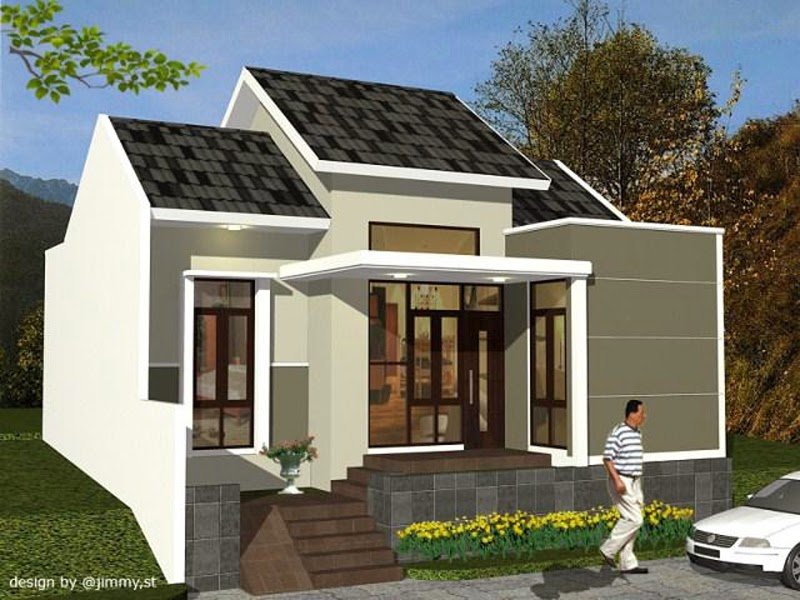 910 Gambar Rumah Biasa Minimalis Gratis Terbaru