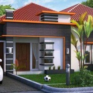 bentuk teras rumah sederhana
