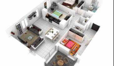 desain rumah minimalis 3 kamar luas tanah 6x10 - seputaran