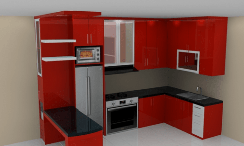 Harga Kitchen Set Minimalis Olympic Murah Dan Terbaru