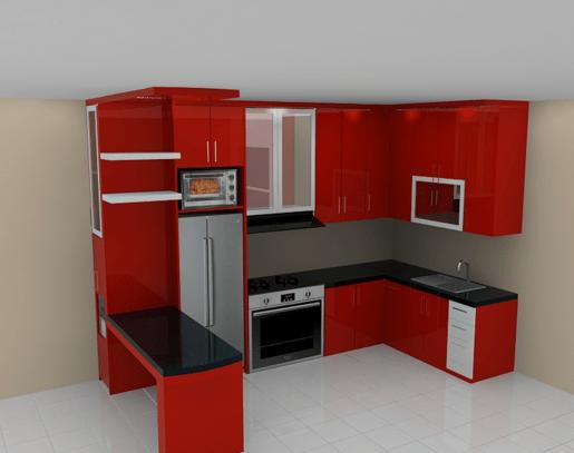 40 Gambar Kitchen Set Minimalis Sederhana Dan Murah