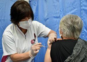 日本のワクチン接種率