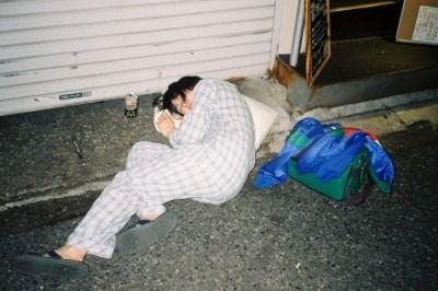 東京の酔った女