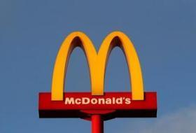 マクドナルドのポテトにメッセージ