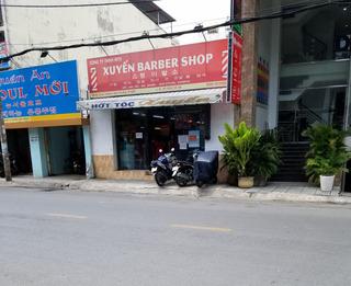 ベトナムの理髪店