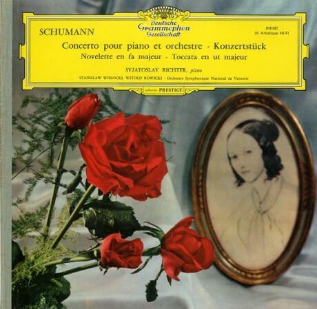 DE  DGG  LPM18 597 リヒテル シューマン・ピアノ協奏曲