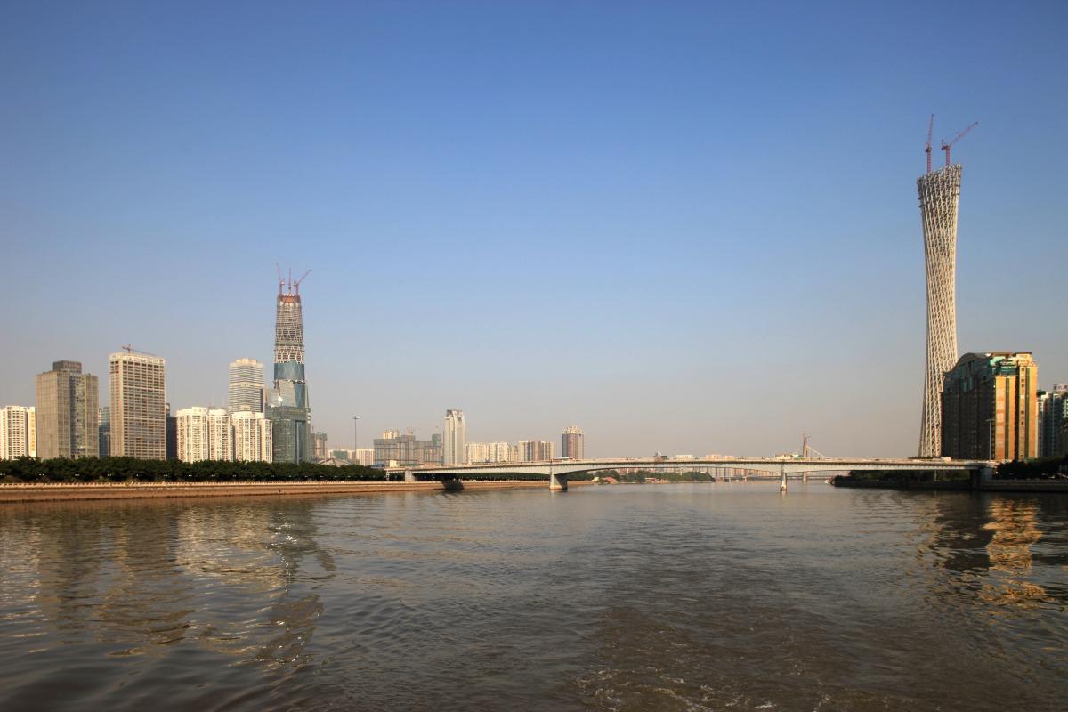 広州電視観光塔 : 超高層マンション・超高層ビル