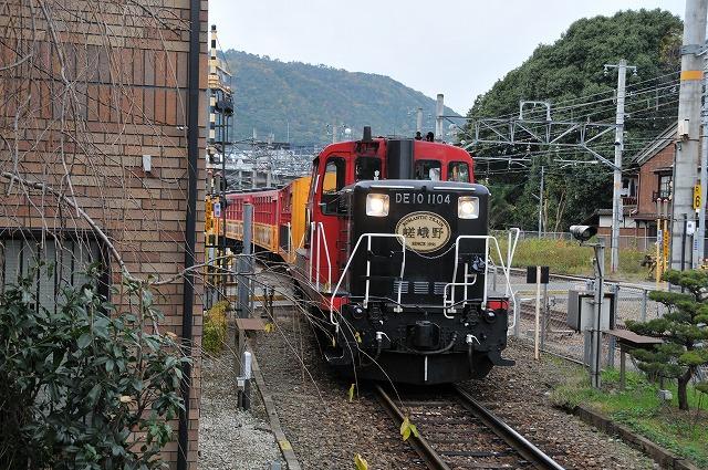 マリンブルーの風 : 紅葉の京都を訪ねて 保津峽トロッコ列車編